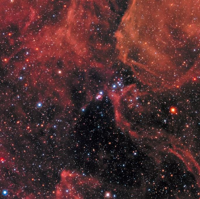 Сверхновая SN 1987A.