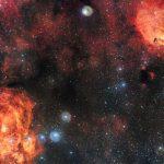 Небесный кот встретился с космическим омаром