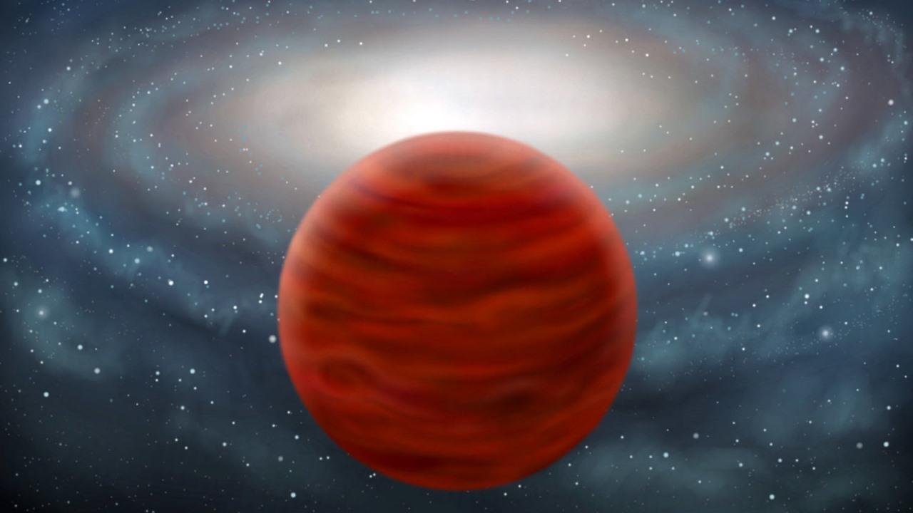 Астрономы обнаружили самый массивный коричневый карлик