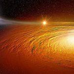 Астрономы следят за безумным танцем между звездой и черной дырой