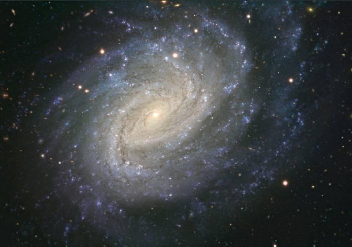 Спиральная галактика NGC 1187. Фото ESO