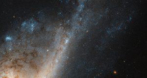 NGC 4536 глазами космического телескопа Хаббл