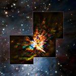 Астрономы увидели феерическое шоу столкновения звезд
