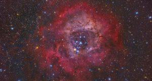 Потрясающий снимок туманности NGC 2237 от Мигеля Кларо