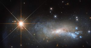 Хаббл запечатлел спиральную галактику NGC 7250