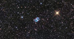 Туманность Маленькая Гантель от астрофотографа Рона Бречера
