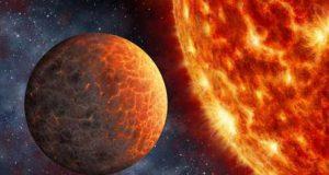 Экзопланета Kepler 1649b в представлении художника.