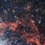 Телескоп «Хаббл» сфотографировал остаток сверхновой SNR 0509-68.7
