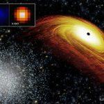Астрономы обнаружили сверхмассивную черную дыру – «беглянку»
