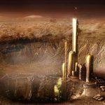 На Марсе нашли руины древнего города
