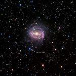 Астрономы впервые наблюдали, как взрыв сверхновой «врезался» в звезду