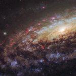 Хаббл запечатлел спиральную галактику NGC 7331