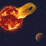 Зафиксирована рекордная звёздная вспышка